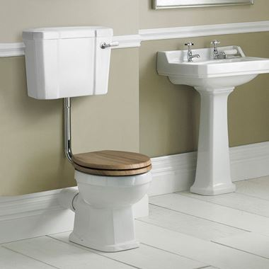 Butler & Rose Catherine Low Level Pan & Low Level Cistern