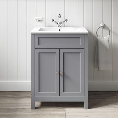 Butler & Rose Catherine Vanity Unit & Basin - Matt Grey