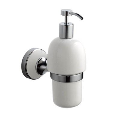 Butler & Rose Catherine Wall Mounted Ceramic Soap Dispenser