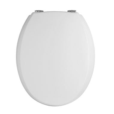 Butler & Rose Catherine White Standard Bottom Fix Toilet Seat