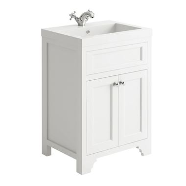 Butler & Rose Charlotte 600mm Vanity Unit - Arctic White