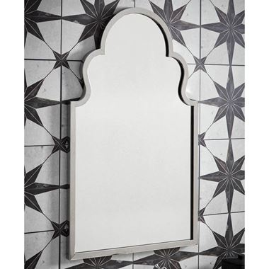 Butler & Rose Chrome Mirror - 500 x 830mm