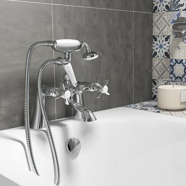 Butler & Rose Loretta Traditional Bath Shower Mixer