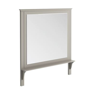 Butler & Rose Mirror with Shelf & Dovetail Grey Frame - 1200 x 1400mm