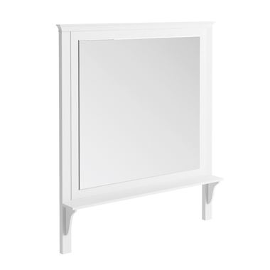 Butler & Rose Mirror with Shelf & Arctic White Frame - 1200 x 1400mm