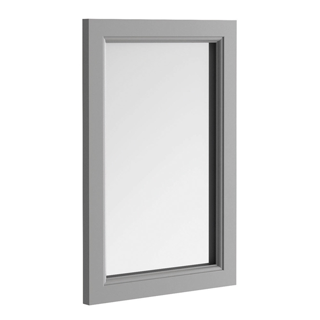 Butler & Rose Mirror with Spa Grey Frame - 900 x 600mm