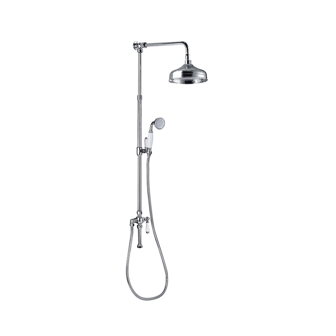 Butler & Rose Victoria 2 Outlet Rigid Riser Shower Kit