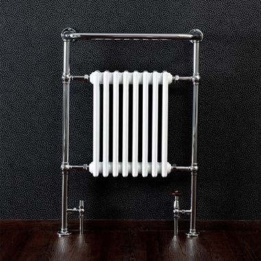 Butler & Rose Victoria Heated Towel Rail Radiator - H965 x W673mm