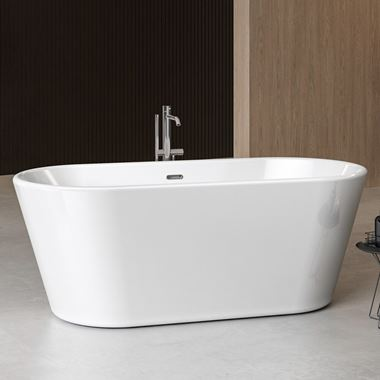 Charlotte Edwards Grosvenor Free Standing Bath - 1650 x 735mm