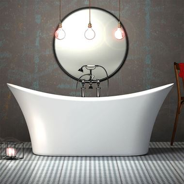 Charlotte Edwards Harrow Free Standing Bath - 1700 x 700mm