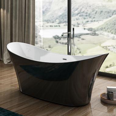 Charlotte Edwards Hazlemere Freestanding Bath - 1700 x 700mm