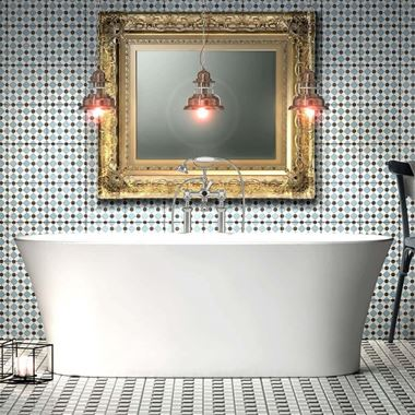 Charlotte Edwards Luna White Freestanding Bath - 1700 x 800mm