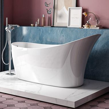 Charlotte Edwards Portobello Freestanding Bath - 1720 x 730mm