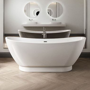 Charlotte Edwards Richmond Freestanding Bath - 1760 x 680mm