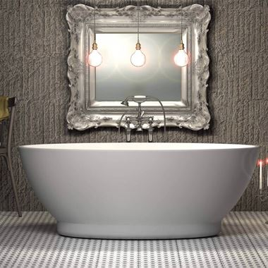 Charlotte Edwards Shard Free Standing Bath - 1685 x 785mm