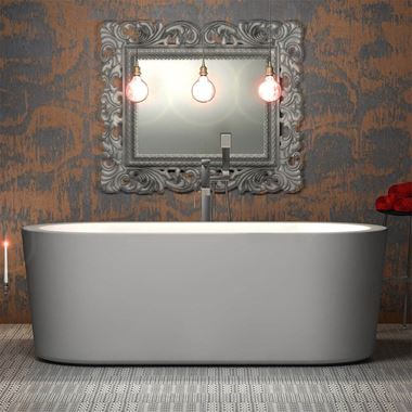 Charlotte Edwards Strand White Freestanding Bath