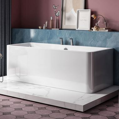 Charlotte Edwards Stratford Freestanding Bath - 1720 x 740mm