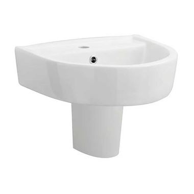 Christine 420mm Semi Pedestal & Basin