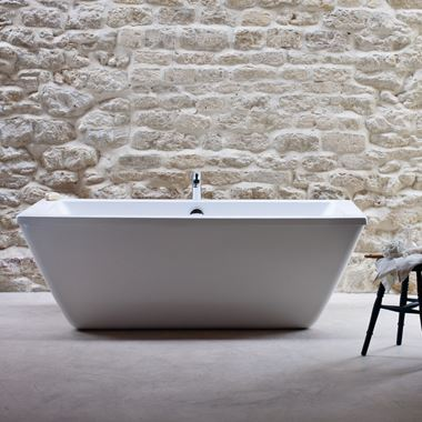 Cleargreen Freefortis Double Ended Freestanding Bath - 1800 x 800mm