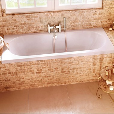 Cleargreen Verde Double Ended Bath 1900 x 800mm