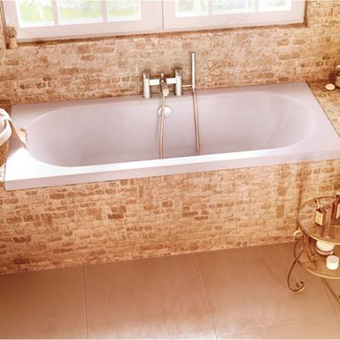 Cleargreen Verde Double Ended Bath - 1600, 1700, 1800 & 1900mm