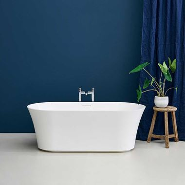 Clearwater Armonia Natural Stone Freestanding Bath - 1550 x 750mm