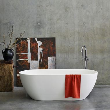 Clearwater Formoso ClearStone Freestanding Bath - 1500 & 1690 x 800mm