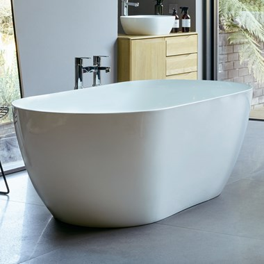 Clearwater Formoso Grande ClearStone Freestanding Bath