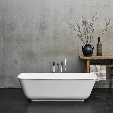 Clearwater Nuvola ClearStone Freestanding Bath - 1700 x 750mm