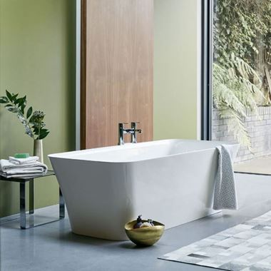 Clearwater Palermo ClearStone Freestanding Bath - 1600 & 1790 x 750mm