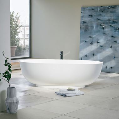 Clearwater Puro ClearStone Freestanding Bath - 1700 x 750mm