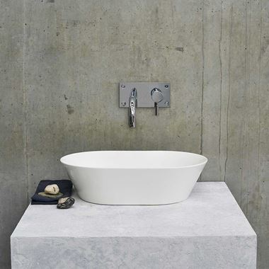 Clearwater Sontuoso ClearStone Countertop Basin