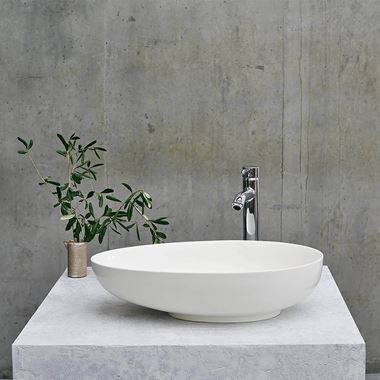 Clearwater Teardrop ClearStone Countertop Basin