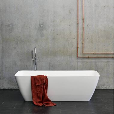 Clearwater Vicenza ClearStone Freestanding Bath - 1524 & 1800 x 800mm