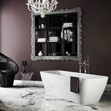 Clearwater Vicenza Grande ClearStone Freestanding Bath