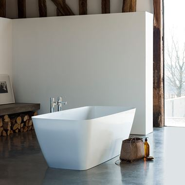 Clearwater Vicenza Petite ClearStone Freestanding Bath