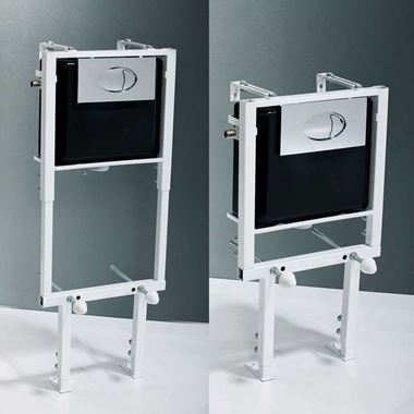 Vellamo Adjustable Height Wall Hung Concealed Toilet Mounting Frame & Cistern