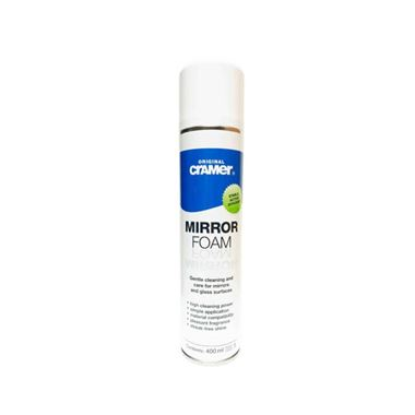Cramer Professional Mirror Foam for Mirrored Surfaces & Uncoated Shower Glass - 400ml