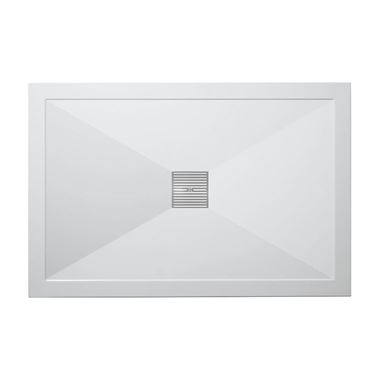 Crosswater 25mm Rectangular Stone Resin Shower Tray & Waste - 800x1000mm