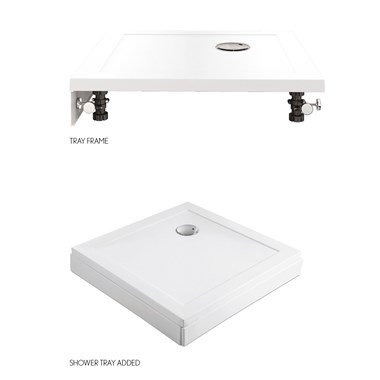Crosswater 35mm Shower Tray Panel Pack