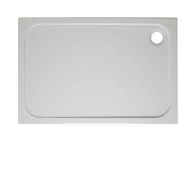 Crosswater 45mm Rectangular Stone Resin Shower Tray - 1400x800mm