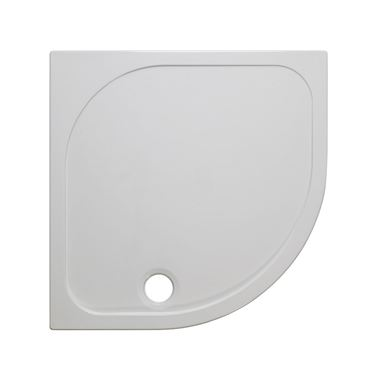 Crosswater 45mm Quadrant Stone Resin Shower Tray - 900x900mm