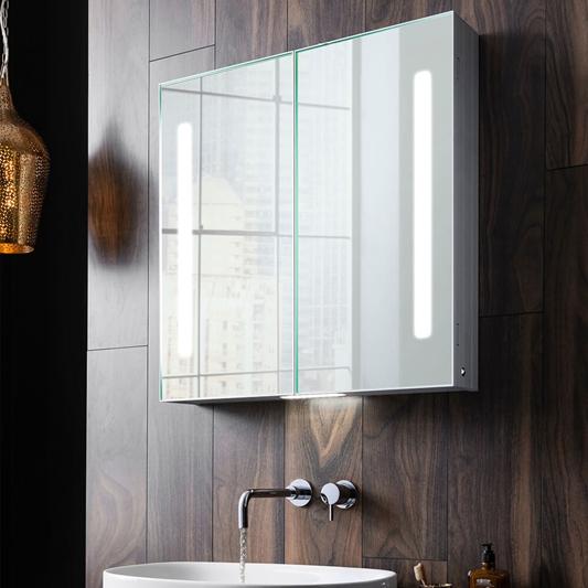Crosswater Allure Double Door Bathroom Cabinet 700 X 700mm Drench