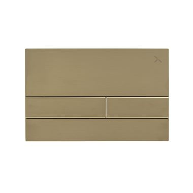 Crosswater Arena Flush Plate - Brushed Brass