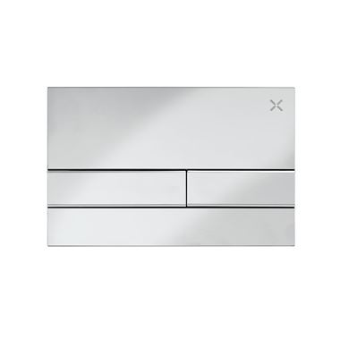 Crosswater Arena Flush Plate - Chrome