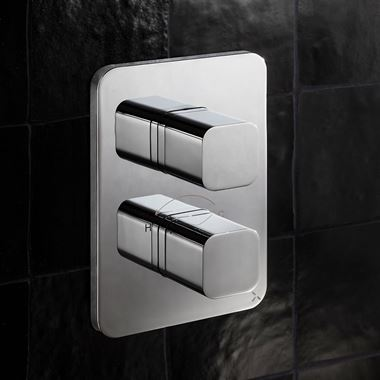 Crosswater Atoll Thermostatic 1 Outlet Shower Valve - Crossbox Technology