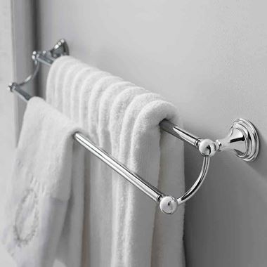 Crosswater Belgravia Double Towel Rail - 660mm