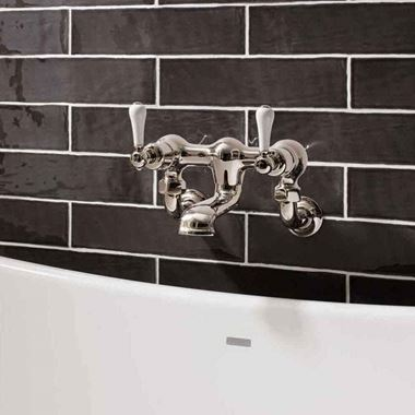 Crosswater Belgravia Crosshead Wall Mounted Bath Filler Tap