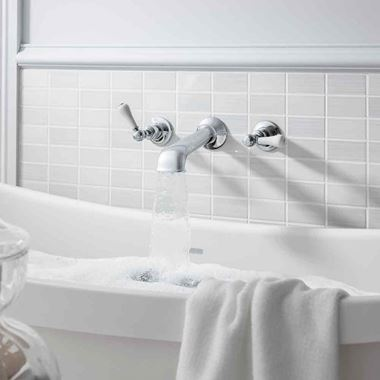 Crosswater Belgravia Lever Wall Mounted Bath Spout