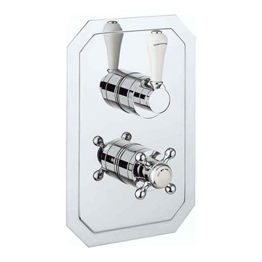 Crosswater Belgravia Concealed Slimline Thermostatic Lever Shower Valve
